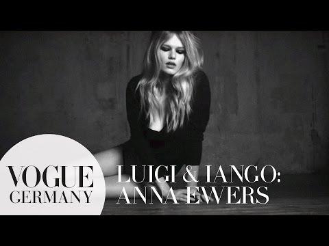 Fashion Shooting mit Model Anna Ewers   Brigitte Bardot Beauty Inspiration   VOGUE Behind the Scenes