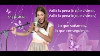 Violetta 2 - Hoy somos más - Letra