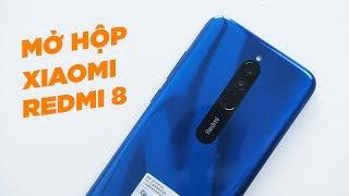 Mở hộp Redmi 8 Đầu tiên tại Vn - Chỉ 3tr: thiết kế ấn tượng, pin 5k, sạc nhanh 18W, Chip yếu
