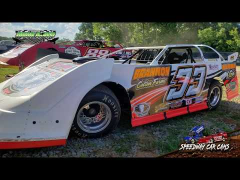 #33 David Brannon - Super Late Model - 9-2-18 Duck River Raceway Park - In Car Camera