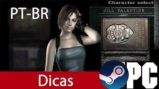 RESIDENT EVIL HD PC | Legenda pt-br e Munição Infinita
