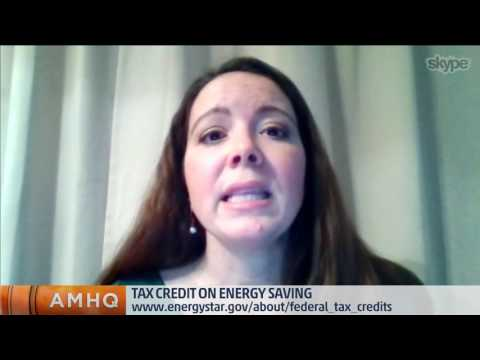 Tax Credits on Energy Efficiency
