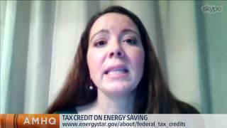 Tax Credits on Energy Efficiency