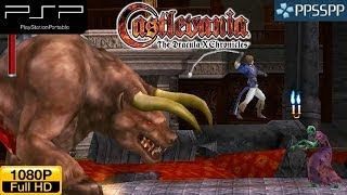 Castlevania: The Dracula X Chronicles - PSP Gameplay HD 1080P (PPSSPP)