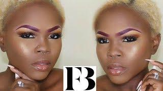 RihVu and Demo of Fenty Beauty | Lyric Rochester @FentyBeauty @PricillaOno