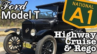 Ford Model T - Highway Cruise & Registration
