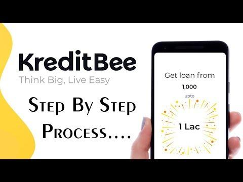 Kredit Bee Emi Loan 1000 to 1lakh .....Process !