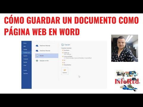 guardar-un-documento-como-página-web-en-word