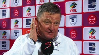 Absa Premiership | Bidvest Wits v Cape Town City | Post-match interview with Gavin Hunt