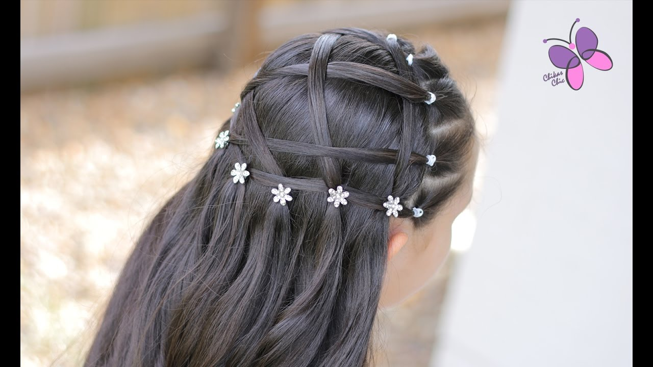 First Communion Hairstyle Hairstyles For Girls