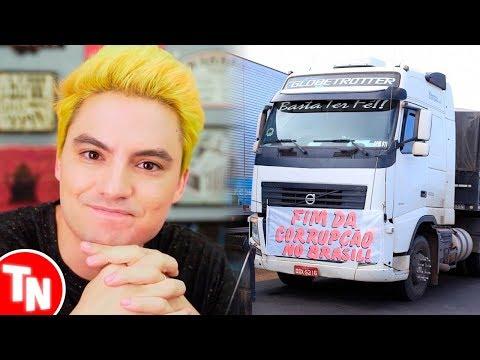 Felipe Neto e youtubers comentam sobre greve dos caminhoneiros