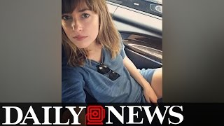 """Dakota Johnson Shares Suggestive Photo As """"fifty Shades Freed' Wraps Up"""