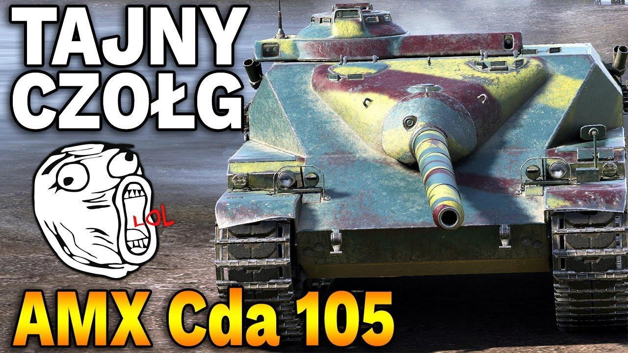 TAJNY CZOŁG W BITWIE – AMX Canon d'assaut 105 – World of Tanks
