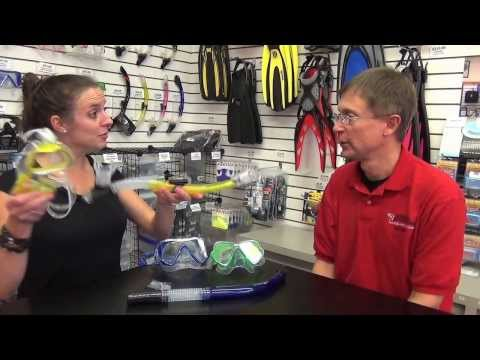 Jesse Gets Certified | Jesse Gets Certified: Selecting Mask, Snorkel, and Fins for Your Class