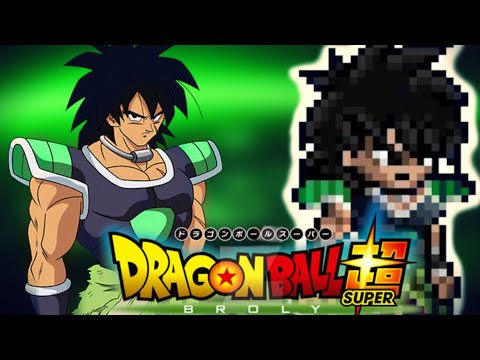 New Dragon Ball Super Broly Sprites Youtube