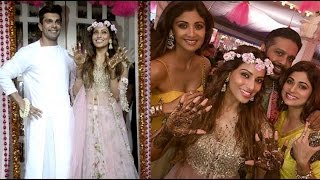 Bipasha's Mehendi Ceremony: Watch All The Action Here