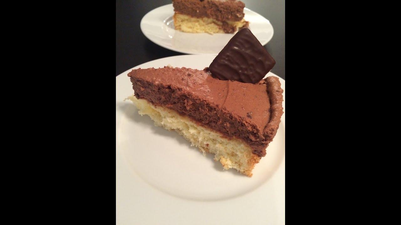 After Eight Kuchen Schoko Pfefferminz Kuchen Rezept Youtube
