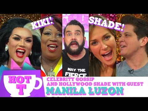 Manila Luzon on HOT T: Celebrity Gossip & Hollywood Shade Season 2 Episode 4! | Hey Qween