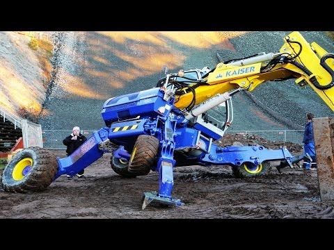 Amazing New Model Spider Excavator Compilation