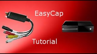 Easycap setup (how to use on current and next gen)