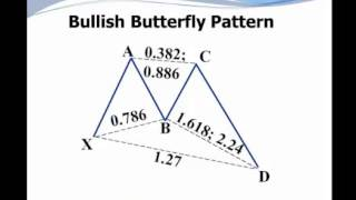 Harmonic Trading - Bullish Butterfly Pattern