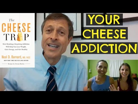 DR BARNARD CHEESE ADDICTION + NEW BOOK & CD GIVEAWAY