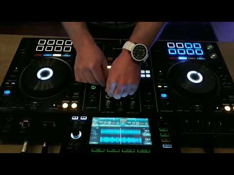 Mix deep house on pioneer xdj rx2