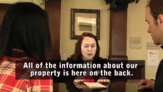 How To Sign In At The Front Desk: Checking Into A Hotel Part 2