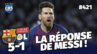 Barcelone vs Lyon (5-1) LIGUE DES CHAMPIONS - Débrief / Replay #421 - #CD5