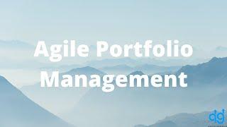 Webinar Agile Portfolio Management with Brian Levy
