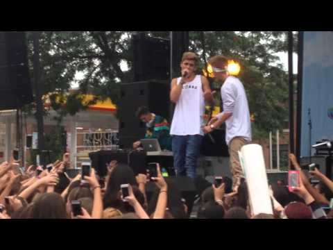 Jack & Jack - Chicago August 8th 2015 - Groove + Cold Hearted