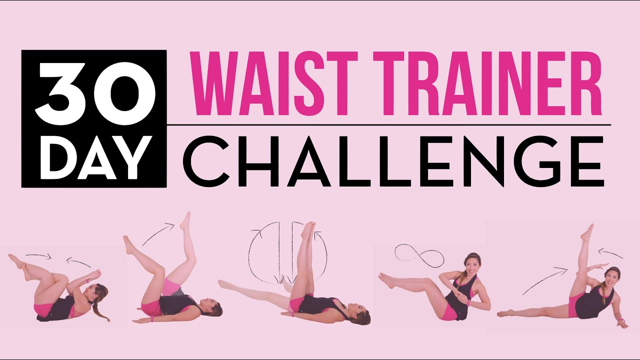 30 Day Waist Trainer Challenge! - YouTube
