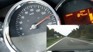 Dacia Sandero TCe 90 Höchstgeschwindigkeit/Top Speed (175km/h) 90PS (hp)