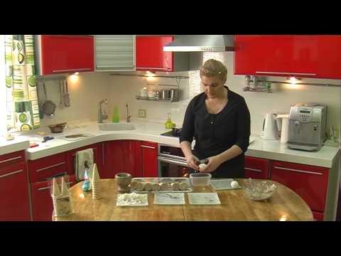 Рыбные хвостики из вафельных конусов / Wafer Cones With Fish And Rice