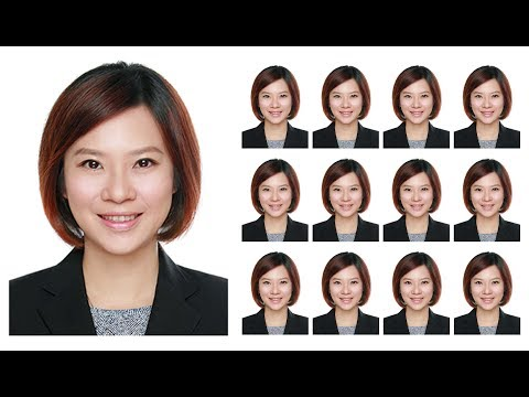 How To Create Passport Size Photo In Photoshop (By One Click)