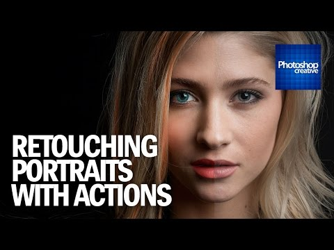 Retouching Your Portraits With Photoshop Actions