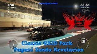 GRID 2 - Classic GRID Pack: Pagani Zonda Revolucion (1440p HD)