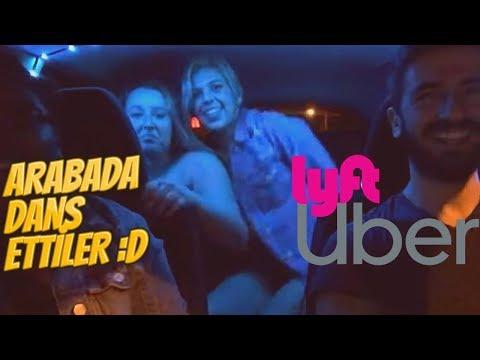 Kızlar Arabada Dans Etti! - Amerika'da UBER