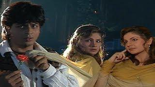 Chaahat On Location   Shah Rukh Khan   Pooja Bhatt   Flashback Video