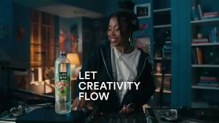 Let Creativity Flow | LIFEWTR. The Feel Good Water