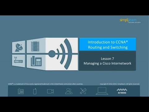 How to Manage a Cisco internetwork? | What is Network Architecture? | CCNA Routing and Switching