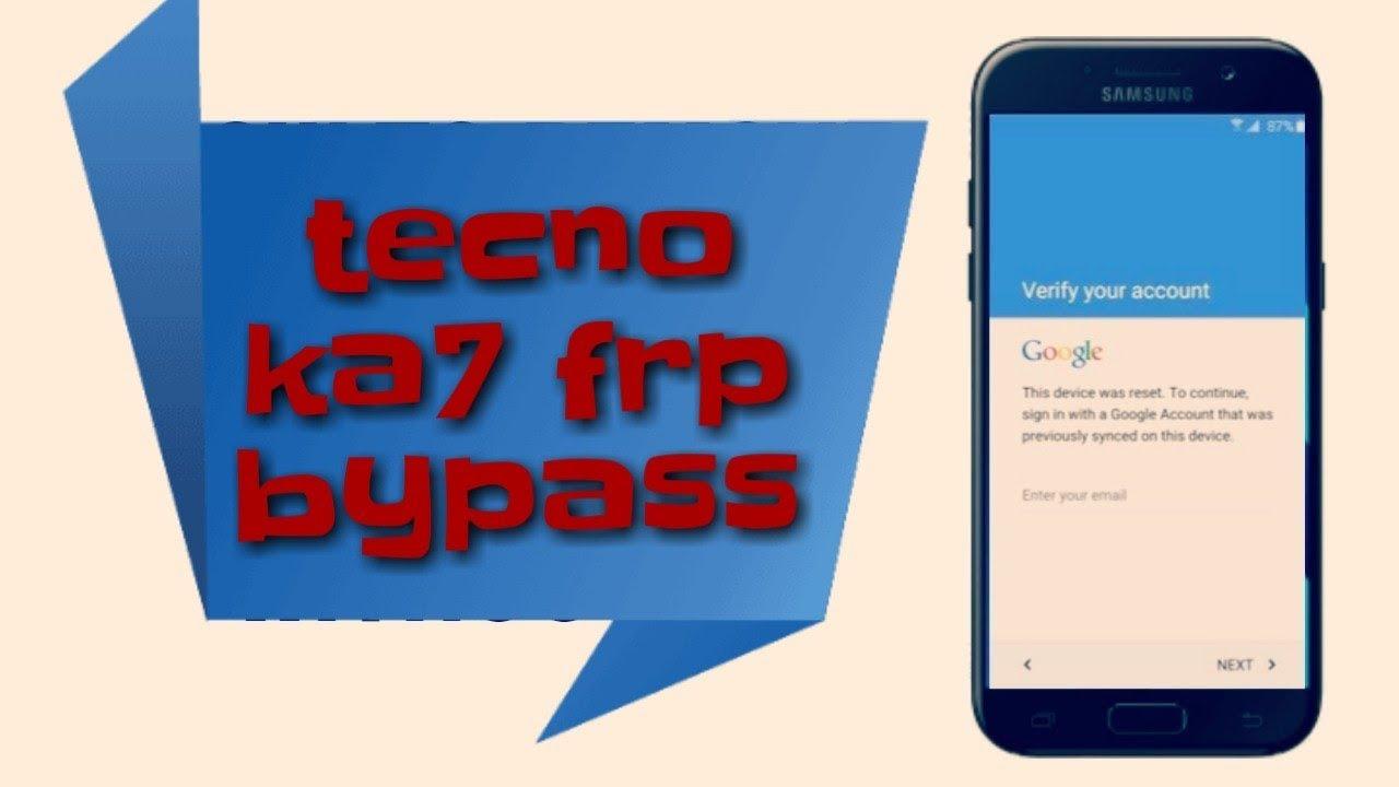 TECNO KA7 frp lock 8 1 0 bypass google reset 2018 by allam rachid