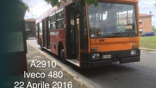 bus bologna 5 a bordo dell iveco turbocity 480 12 u 5203 di tper sul 11b