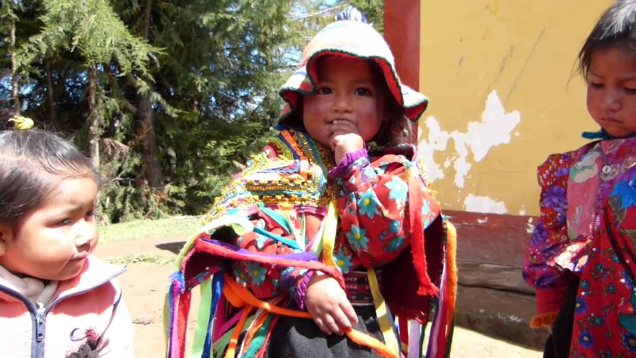 Niña Hablado Quechua Kongacha Peru Youtube