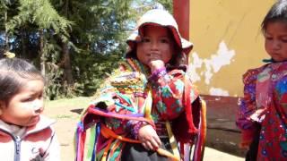 Niña Hablado Quechua  Kongacha Peru