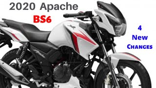 2020 BS6 TVS Apache RTR 160 2V Price, Mileage New Features, New Changes | All Details | Hindi
