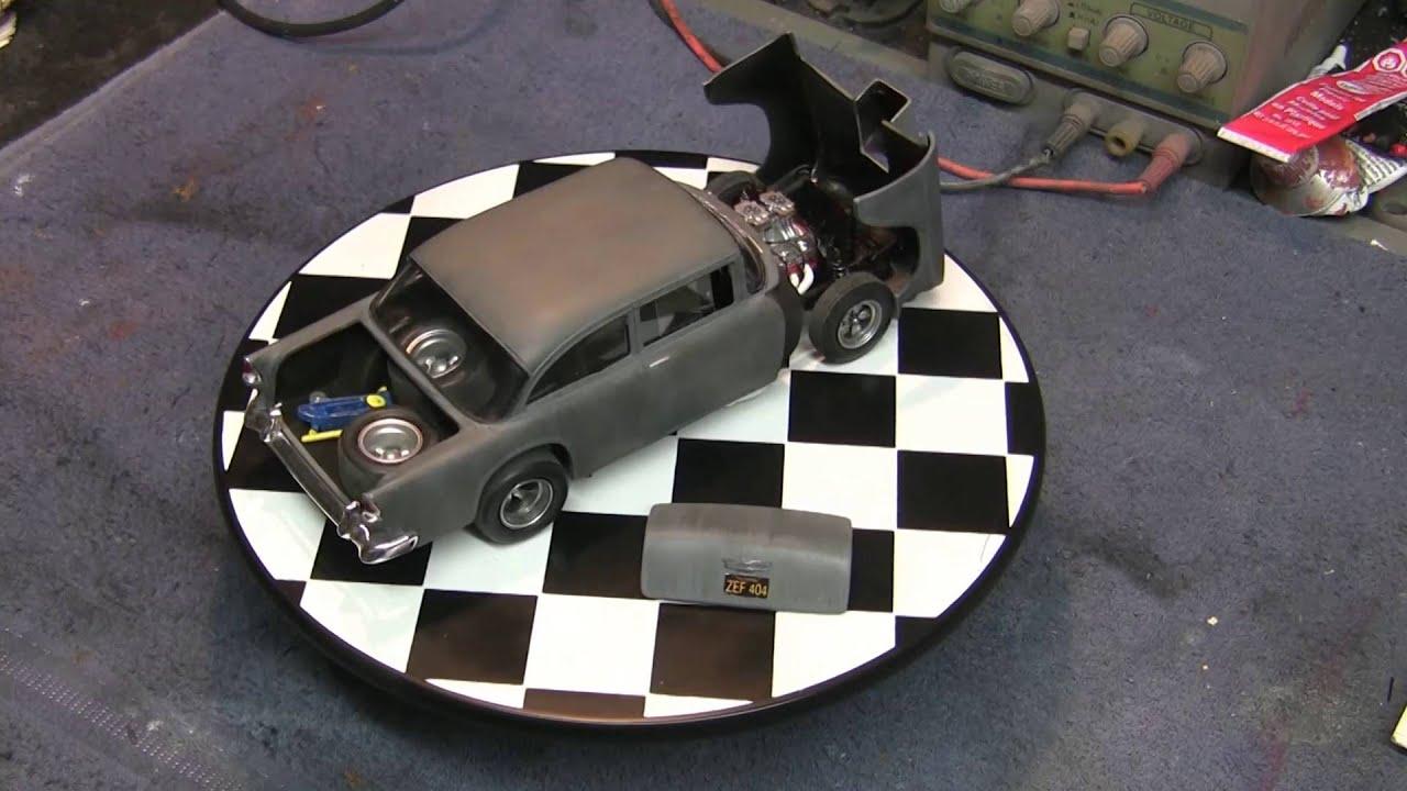 1//18 1955 Chevy Two Lane Blacktop Driver Figure Unfinish Primer Custom Made
