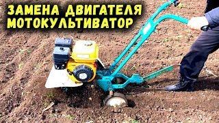 мотокультиватор крот замена двигателя