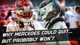 Why Mercedes Probably Won't Quit F1 This Year