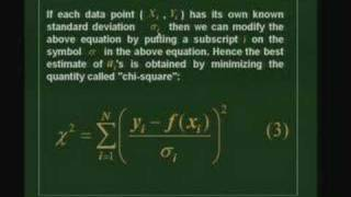 Lecture 13 - Data Fitting : Linear Fit